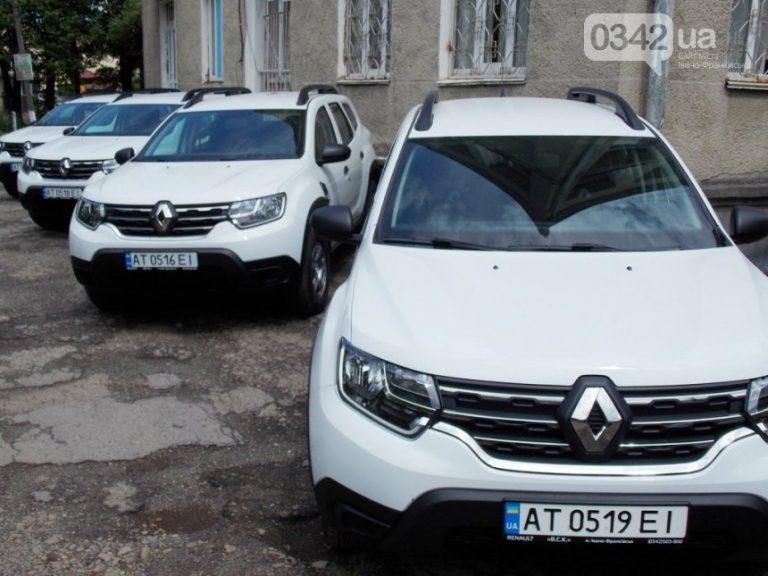 Амбулаторії Калуського району отримали нові автомобілі