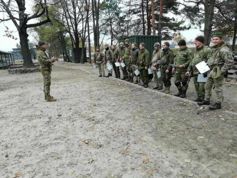 Мінну безпеку в умовах сучасної війни освоювали армійці на Чернігівщині