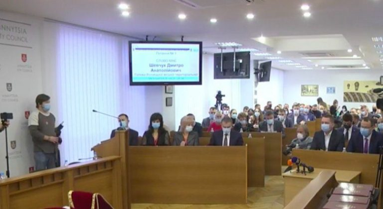 В Виннице началась учредительная сессия городского совета (ТРАНСЛЯЦИЯ)