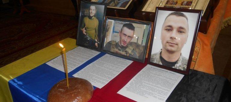 У Чернігові помолилися за загиблих захисників України