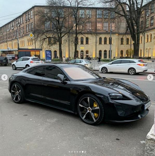 В Киеве видели Porsche за 7 миллионов гривен