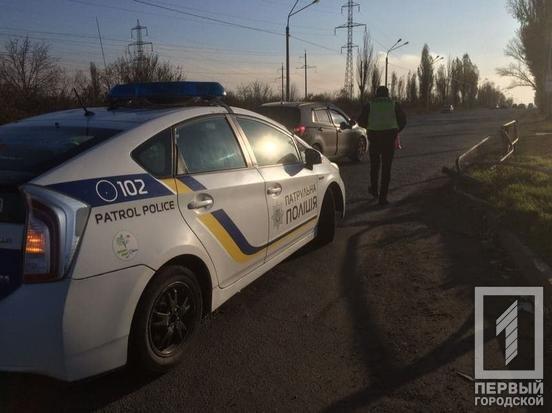 ДТП в Кривом Роге: автомобиль Suzuki зацепил нетрезвого пешехода, – ФОТО