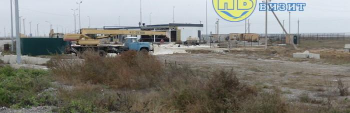 Новую автостанцию строят на админгранице с Крымом