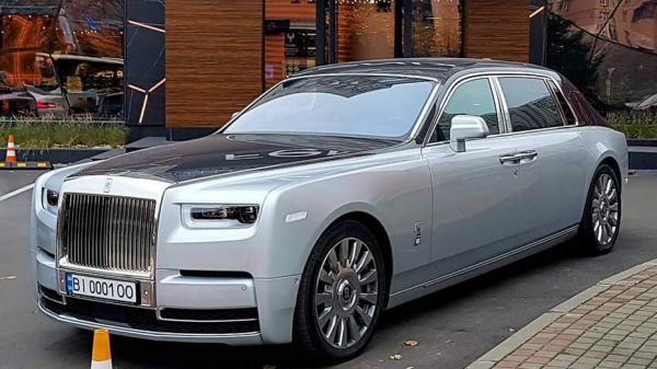 В Киеве видели авто за 21 миллион гривен