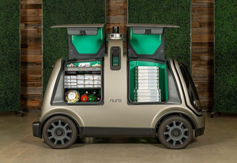 Беспилотные автомобили заменят курьеров