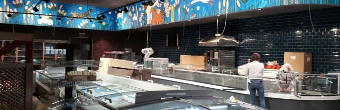 «Сильпо» в центре Херсона: дизайн в стиле «наив»