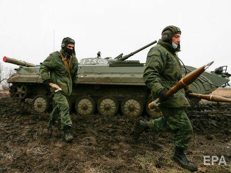 Боевики на Донбассе обстреляли украинские позиции из гранатометов и пулеметов – штаб ООС