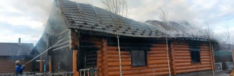 В Одесской области горела сауна, – ФОТО