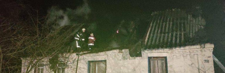 На Житомирщині вогнеборці врятували приватну оселю від знищення вогнем