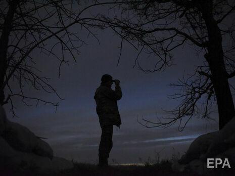 За сутки боевики на Донбассе открывали огонь семь раз, один украинский военный был ранен – штаб ООС