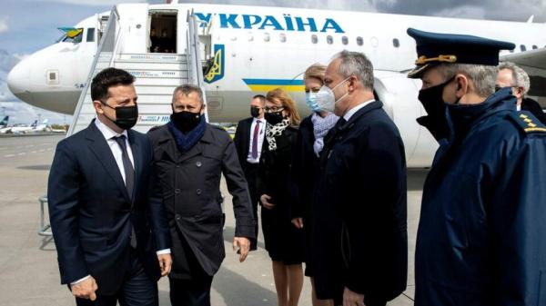Зеленский посетил Польшу с рабочим визитом