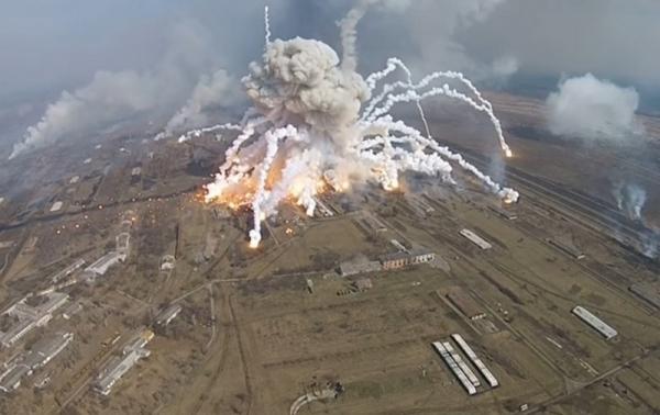 В Bellingcat заявили о причастности России к пожарам на военных складах в Украине