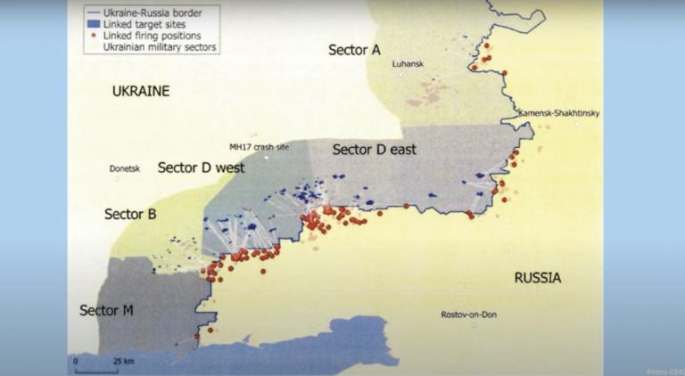 Суд по делу МН17 в Гааге: закончена демонстрация доказательств, среди которых прослушка боевиков и карта обстрелов районов Украины из России