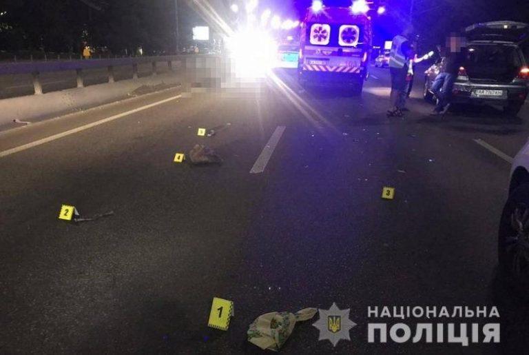 В Киеве на Печерске автомобиль сбил пешехода. Женщина погибла