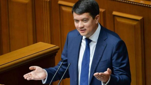 Разумков рассказал, когда Рада рассмотрит законопроекты об олигархах