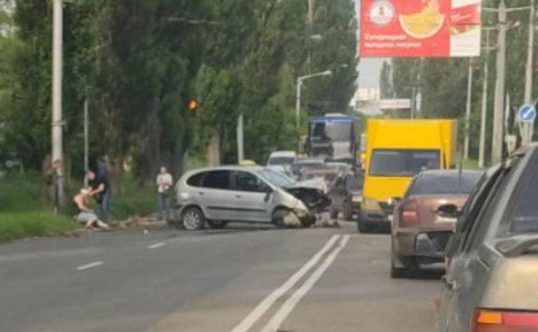 В оккупированной Макеевке произошло серьезное ДТП, – ФОТО