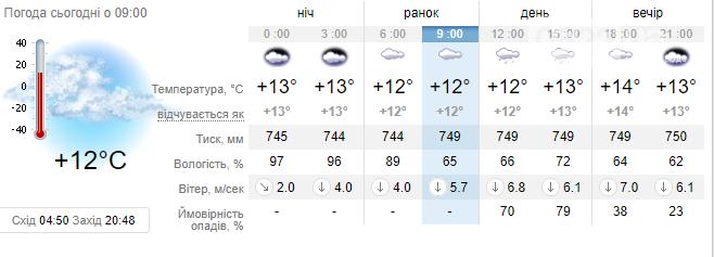 Якою буде погода у Кропивницькому: прогноз на 3 червня