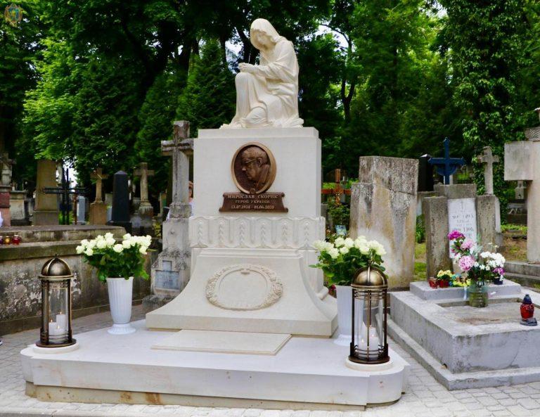 На Личакові відкрили пам'ятник музичному генію Мирославу Скорику, – ФОТО