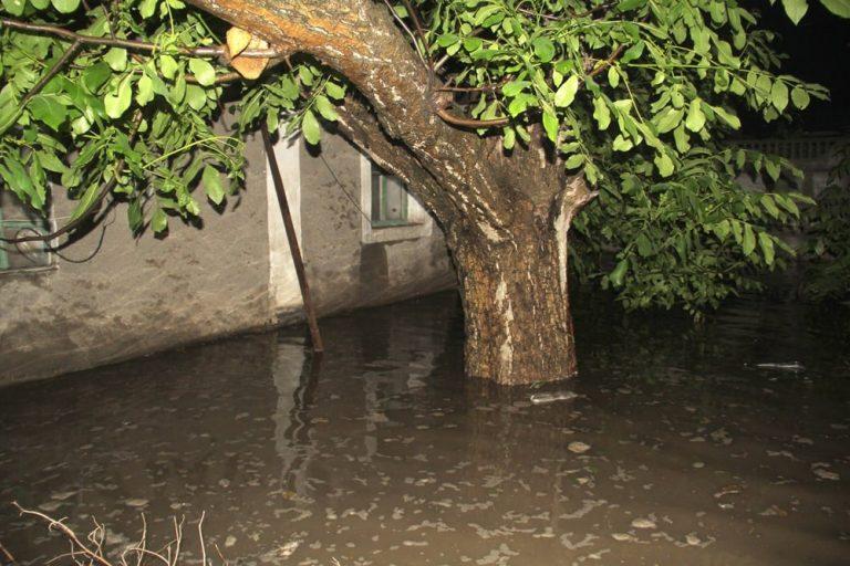 Уровень до 50 см: в оккупированном Донецке дождевая вода залила дома, – ФОТО