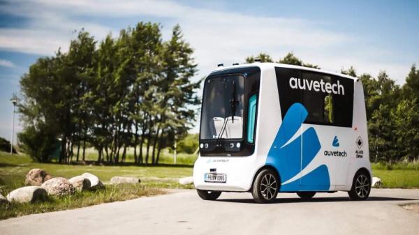 На дорогах Эстонии появятся беспилотные авто на водородном топливе