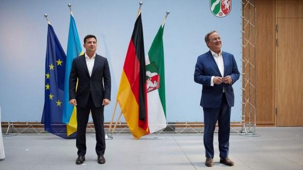 Зеленский в Германии встретился с преемником Меркель